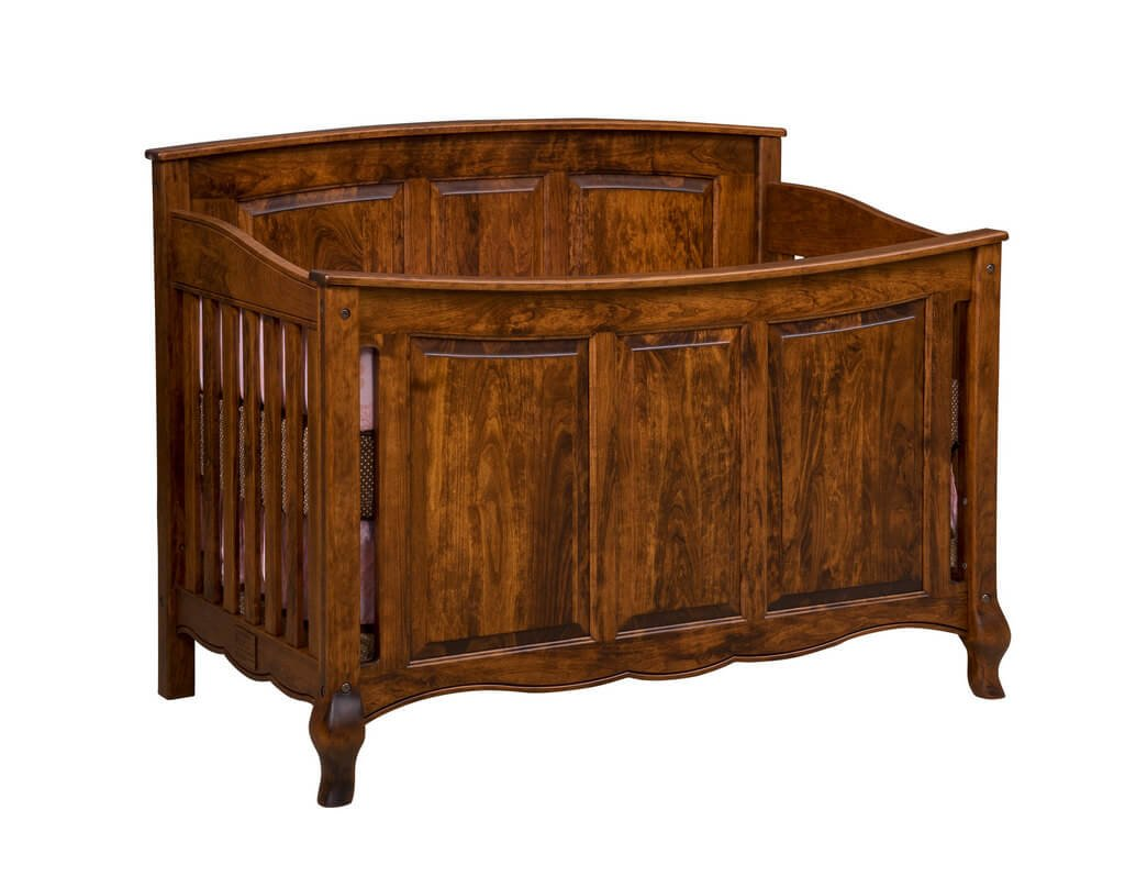 French Country Crib with Pannel