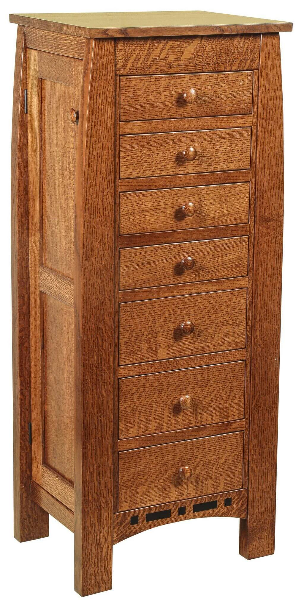 Jewelry Armoires - Bedroom Furniture   E-Town Amish Furniture