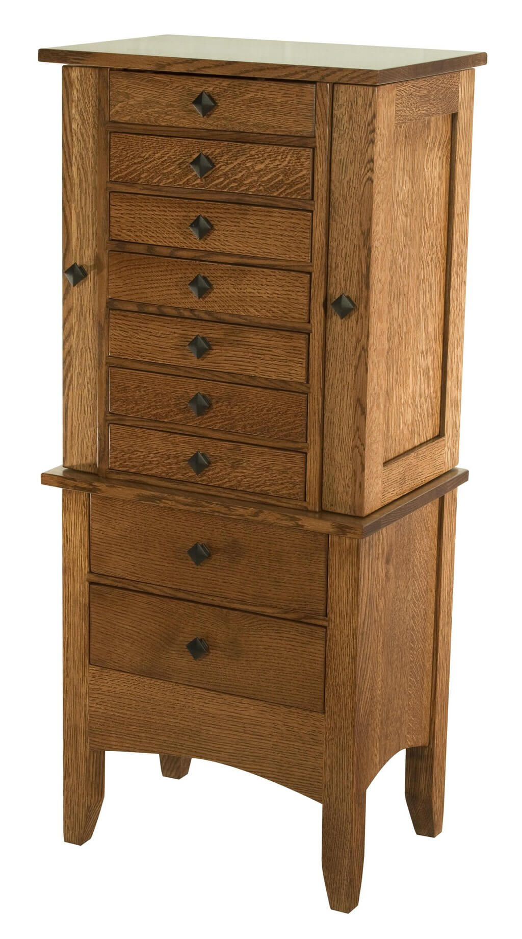 Jewelry Armoires - Bedroom Furniture | E-Town Amish Furniture
